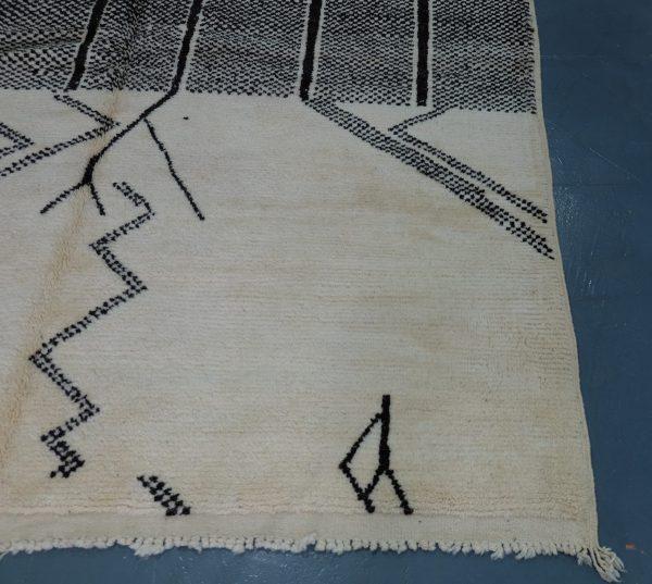 Handmade Geometric Mrirt Rug - 9.67 ft x 6.65 ft