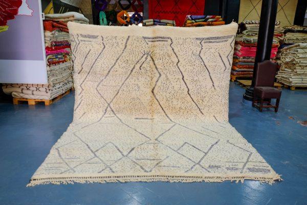Azilal Rug modern design 11.31 ft x 9.18 ft