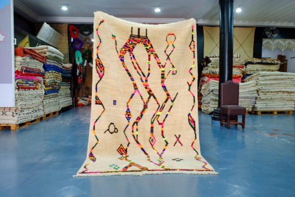 Cheap Berber Moroccan rug 8.03 ft x 4.92 ft