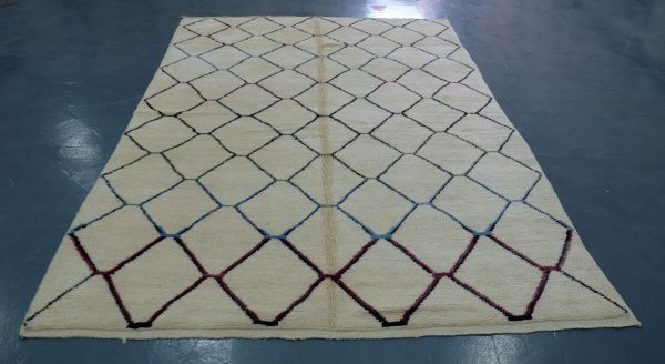 Buy Colored Beni Mrirt rug 10 ft x 6.39 ft