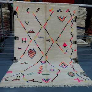 Buy Traditional Beni Mrirt Rug 9.51 ft x 6.56 ft