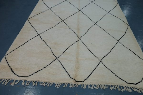 Authentic Beni Ourain Moroccan Rugs 9.84 ft x 7.3 ft