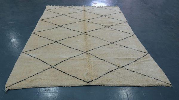 Moroccan beni ourain rugs 10 x 6.56