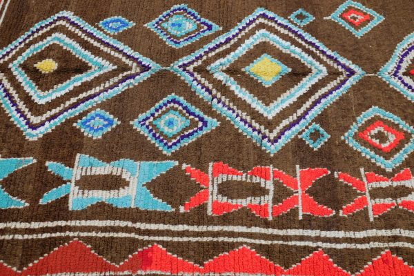 Buy Colored Azilal rug 9.94 ft x 5.7 ft