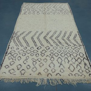 Buy Beni ourain rug 8.62 ft x 4 ft