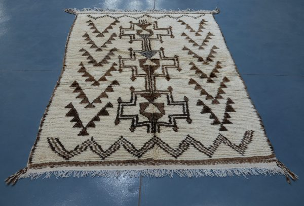 Buy Moroccan berber carpet 6.33 ft x  3.77 ft