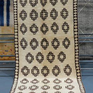 Moroccan berber rug pink 9.05 ft x 4.33 ft
