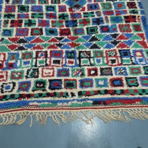 Handmade Colored Azilal rug 8.66 ft x 4.65 ft - Azilal rugs