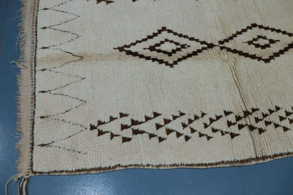 Beni ourain rug 10.76 ft x 3.9 ft
