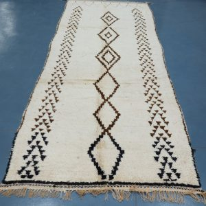 Buy Beni ourain rug 10.76 ft x 3.9 ft