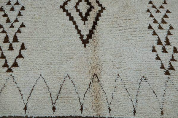 Buy Beni ourain rug 10.76 ft x 3.9 ft