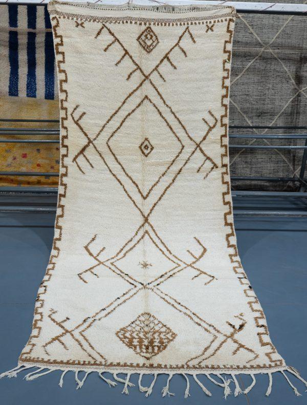 Buy  Beni ourain rug 10.49 ft x 4.39 ft