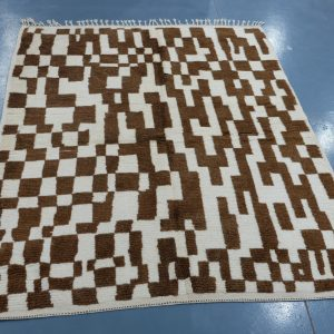 Colored Azilal rug 7.87 ft x 4.59 ft