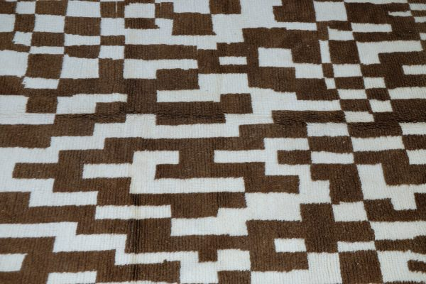 Moroccan berber carpet 6.03 ft x 4.82 ft