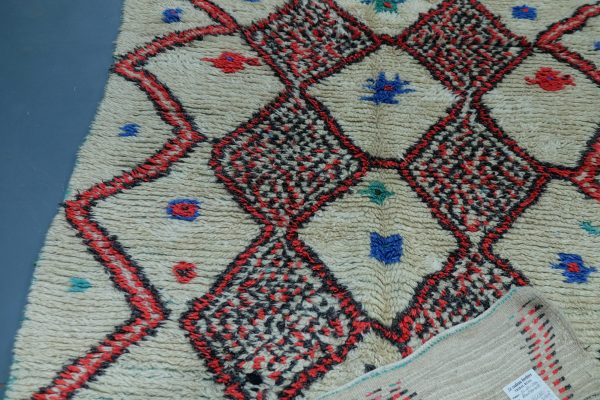 Buy Colored Azilal rug 8.49 ft x 4.10 ft