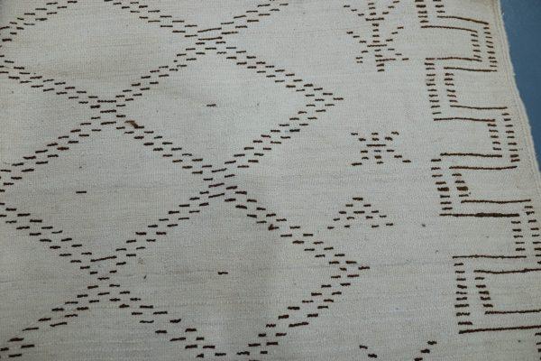 Buy Beni ourain rug 6.52 ft x 5.31 ft