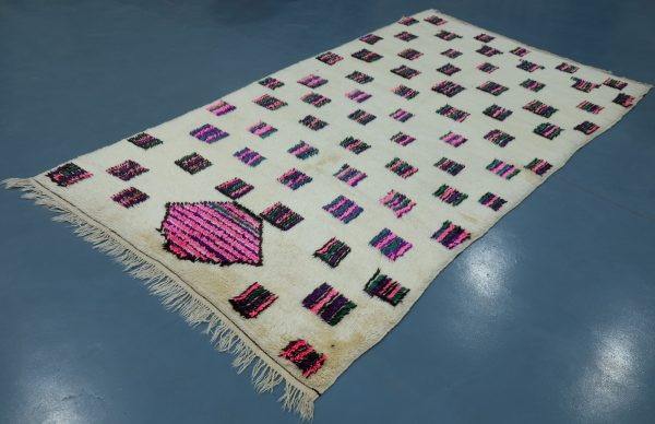 Buy Colored Azilal rug 11.90 ft x 4.65 ft