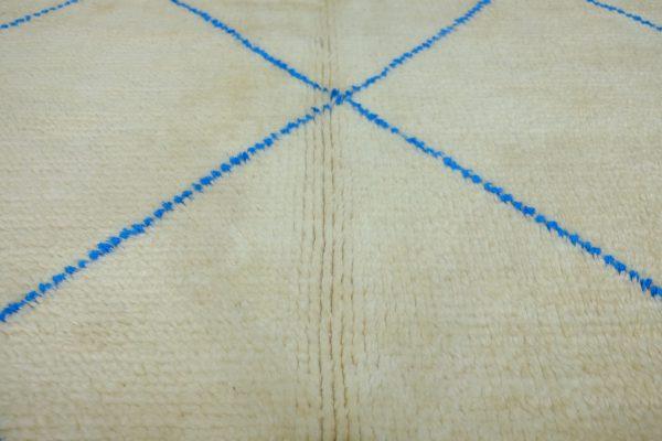 Beautiful Beni Ourain Rugs 7.38 ft x 5.01 ft