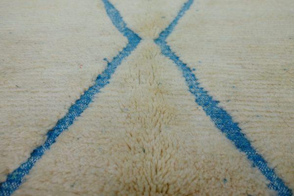 Blue Diamond  Beni Ourain Rug 8.52 ft x 4.92 ft