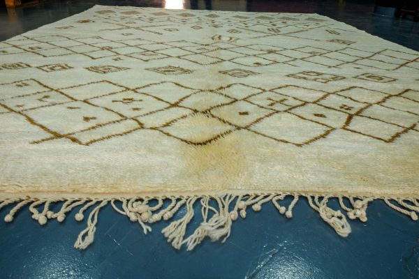 Beautiful Azilal Rug 11.48 ft x 8.85 ft from Morocco