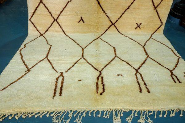 Braun Beni Ourain Rugs 11.15 ft x 8.59 ft