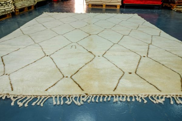 Authentic Moroccan rug 10.9 ft x 8.2 ft