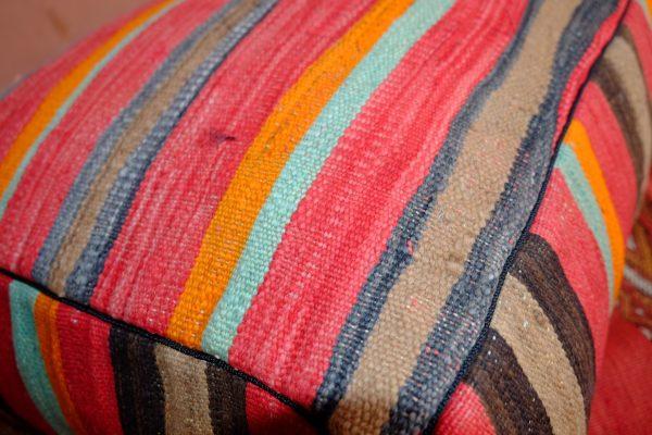 Colored Square Moroccan Poufs for sale