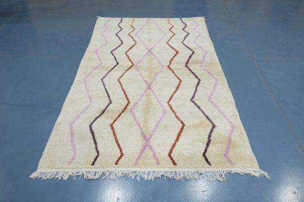 Small Geometric Azilal rug, 7.54 ft x 5.08 ft