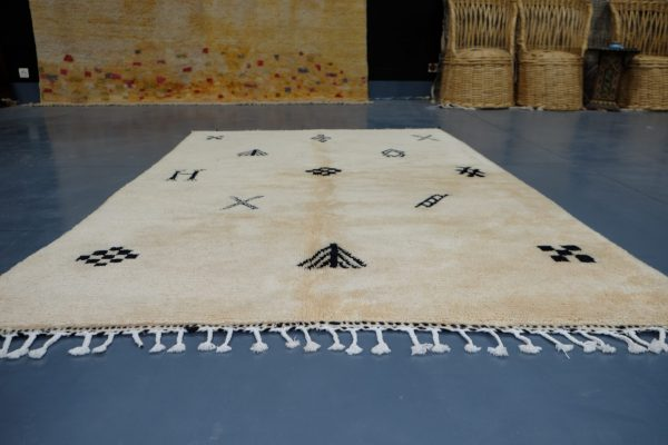 Beautiful Moroccan Azilal rug, 7.64 ft x 4.82 ft