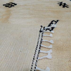 Beautiful Moroccan Azilal rug, 7.64 ft x 4.82 ft