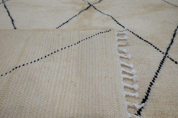 Beni mrirt berber rug 7.54 ft x 4.59 ft