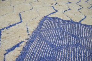 Beautiful Azilal moroccan rug 8.52 ft x 5.34 ft