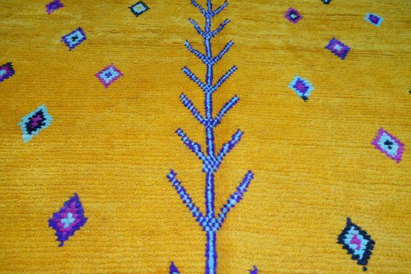 Beautiful Azilal rug 7.54 ft x 4.78 ft