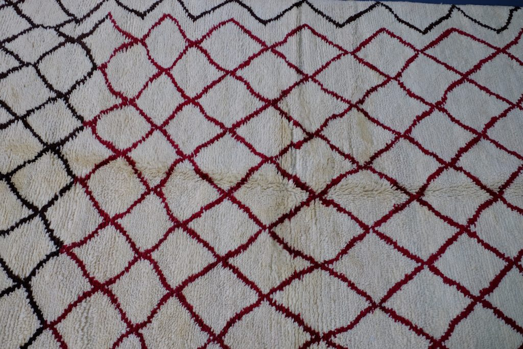 Beni ourain rugs 8.52 ft x 5.24 ft
