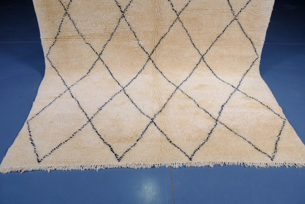 Beni ourain rugs 8.95 ft x 6.65 ft