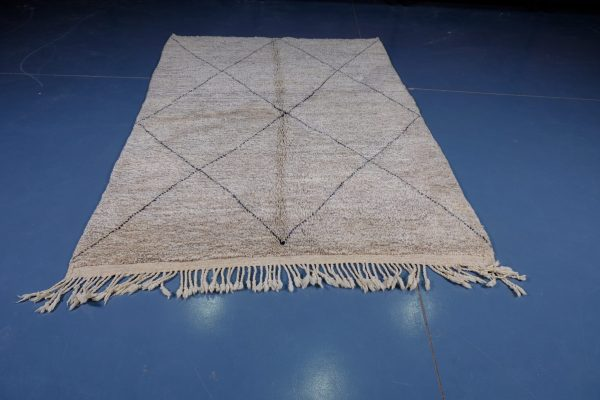 Beni ourain rugs 7.45 ft x 5.08 ft
