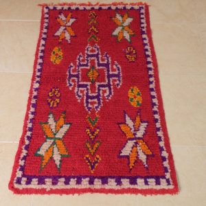 2 azilal small rugs, 4.29 ft x 2.29 ft