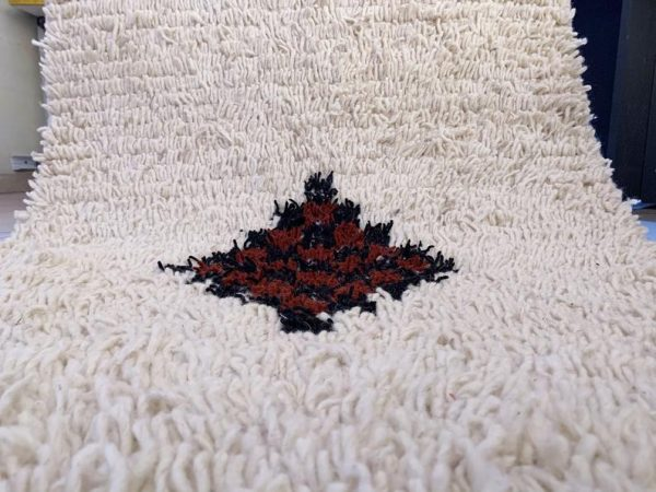 Small beni ourain rug, 4.65 ft x 2.29 ft