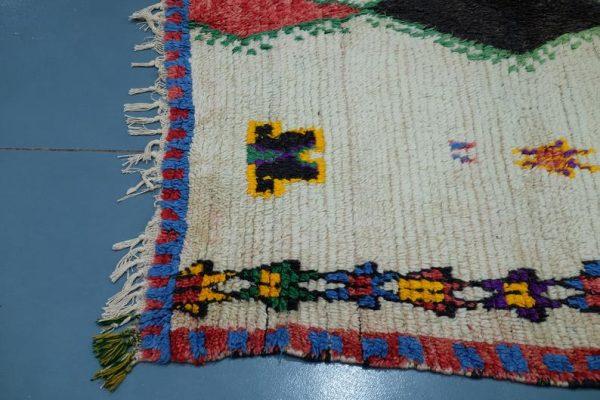 Antique Azilal rug, 8.39 ft x 4.69 ft