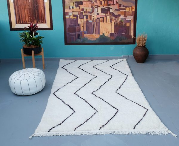 Beni ourain rug, 8.33 ft x 4.65 ft