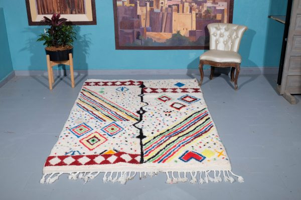 Moroccan Rug, 7.08 ft x 4.72 ft