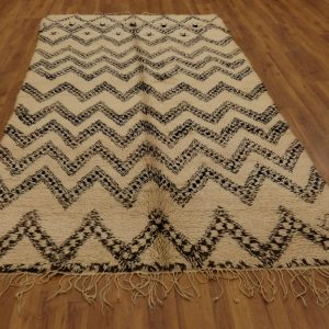 Moroccan Beni Ourain rug 11.4 ft x 5.5 ft