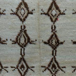 Moroccan berber carpet 7.54 ft x 4.52 ft