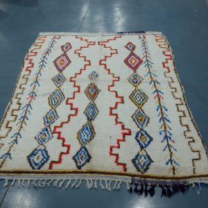 Azilal berber Moroccan rugs 6 ft x 4.19 ft