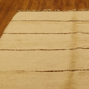 Beni Ourain Moroccan rug, 8.85 ft x 5.9 ft