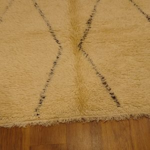 Authentic Moroccan rug : beni ourain rug 10.8 ft x 6 ft