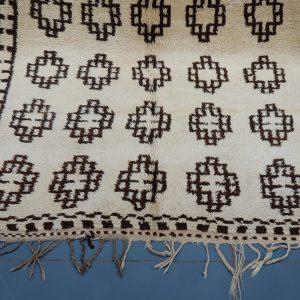 Moroccan berber carpet 9.05 ft x 4.33 ft