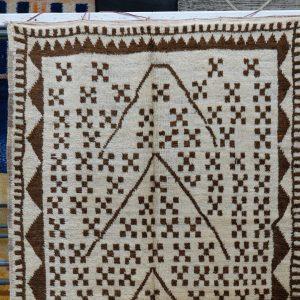 Moroccan berber carpet 7.67 ft x 4.26 ft