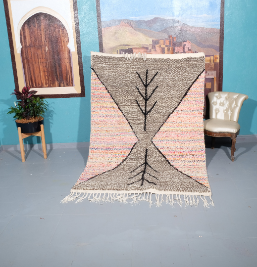 Small Azilal rug, 6.56 ft x 4.49 ft