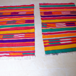 2 azilal small rugs 4.69 ft x 2.82 ft